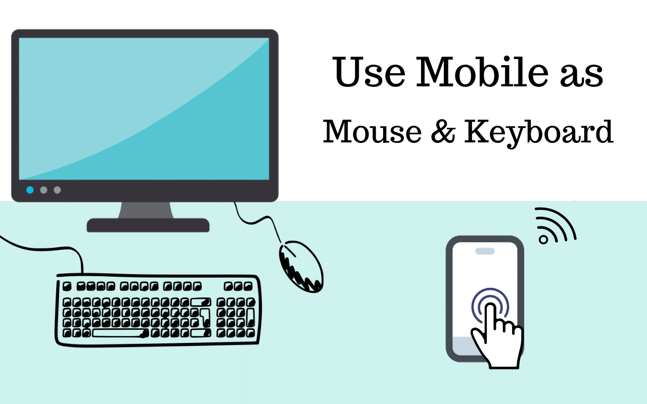 use mobile as mouse with remote mouse