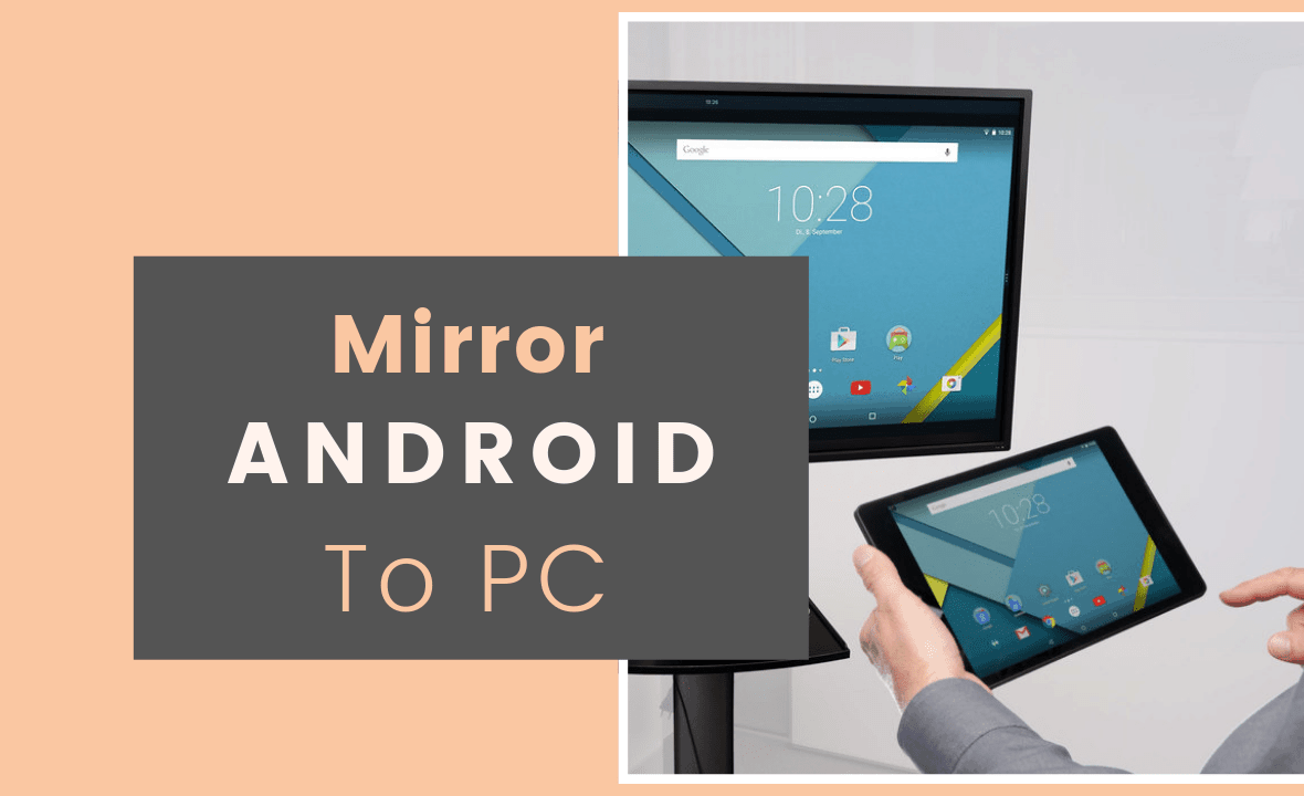 how to mirror android to pc via usb cable