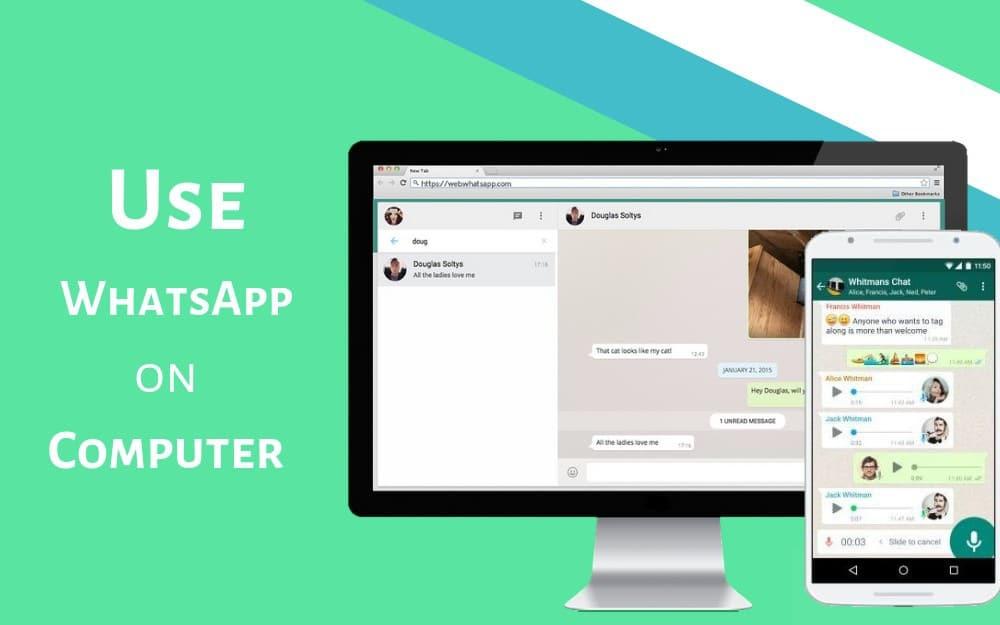 how to use whatsapp on pc whatsapp web