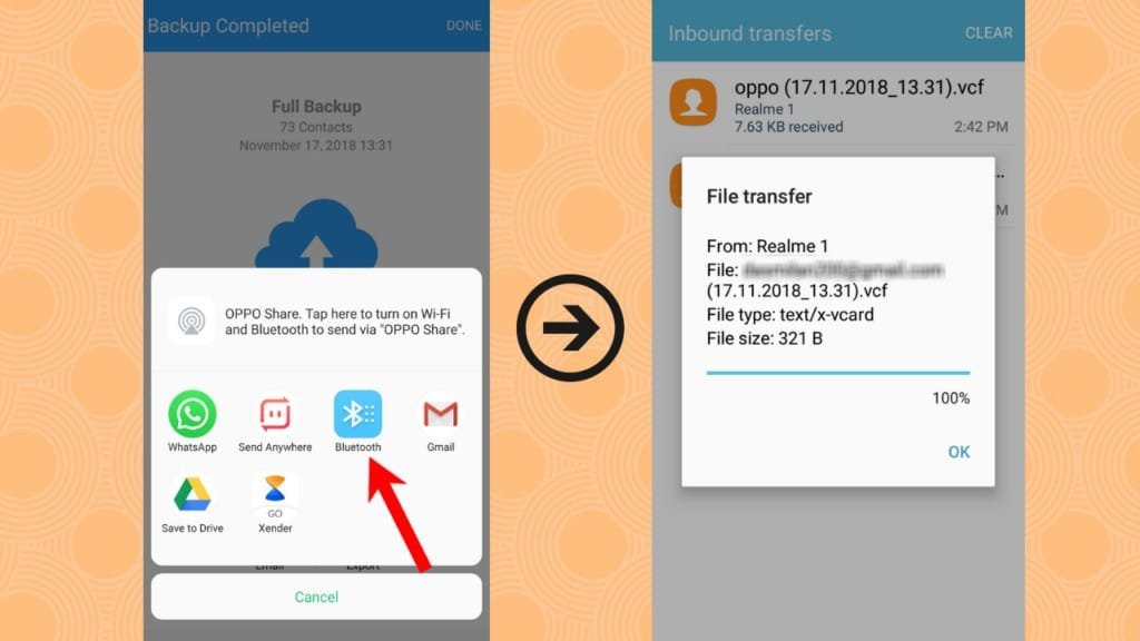 contact transfer, transfer contacts android, contacts backup