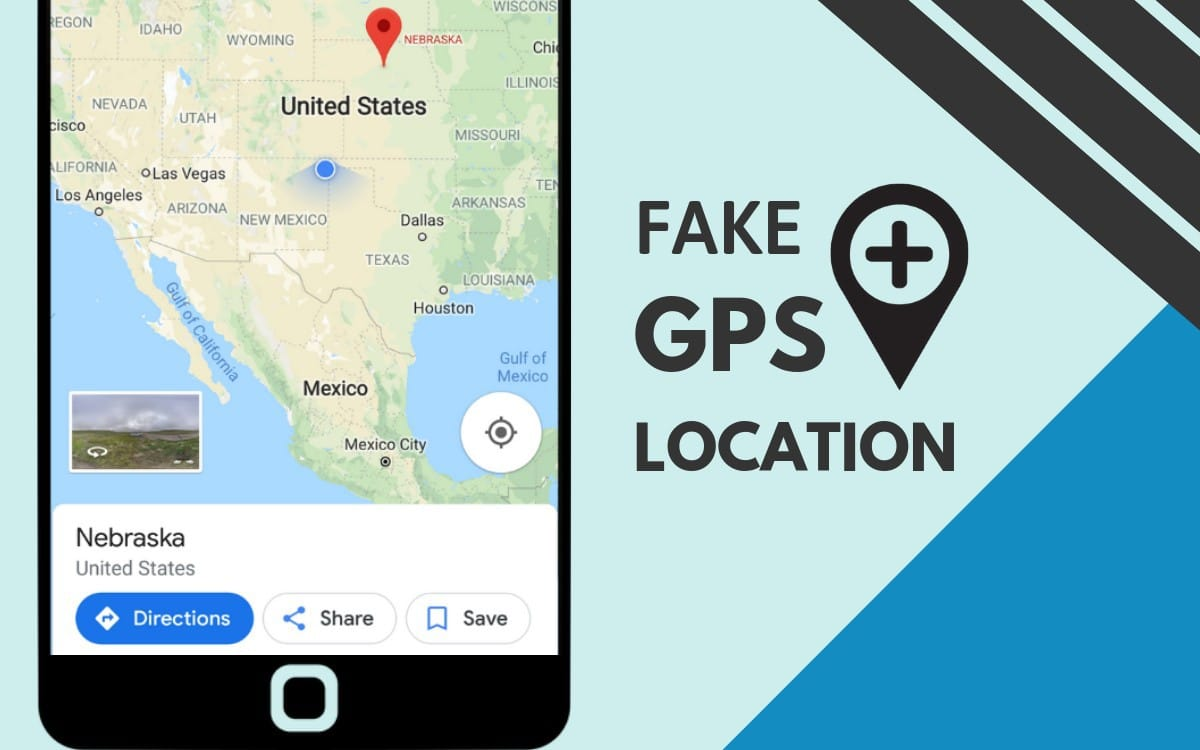 fake your gps location on Android
