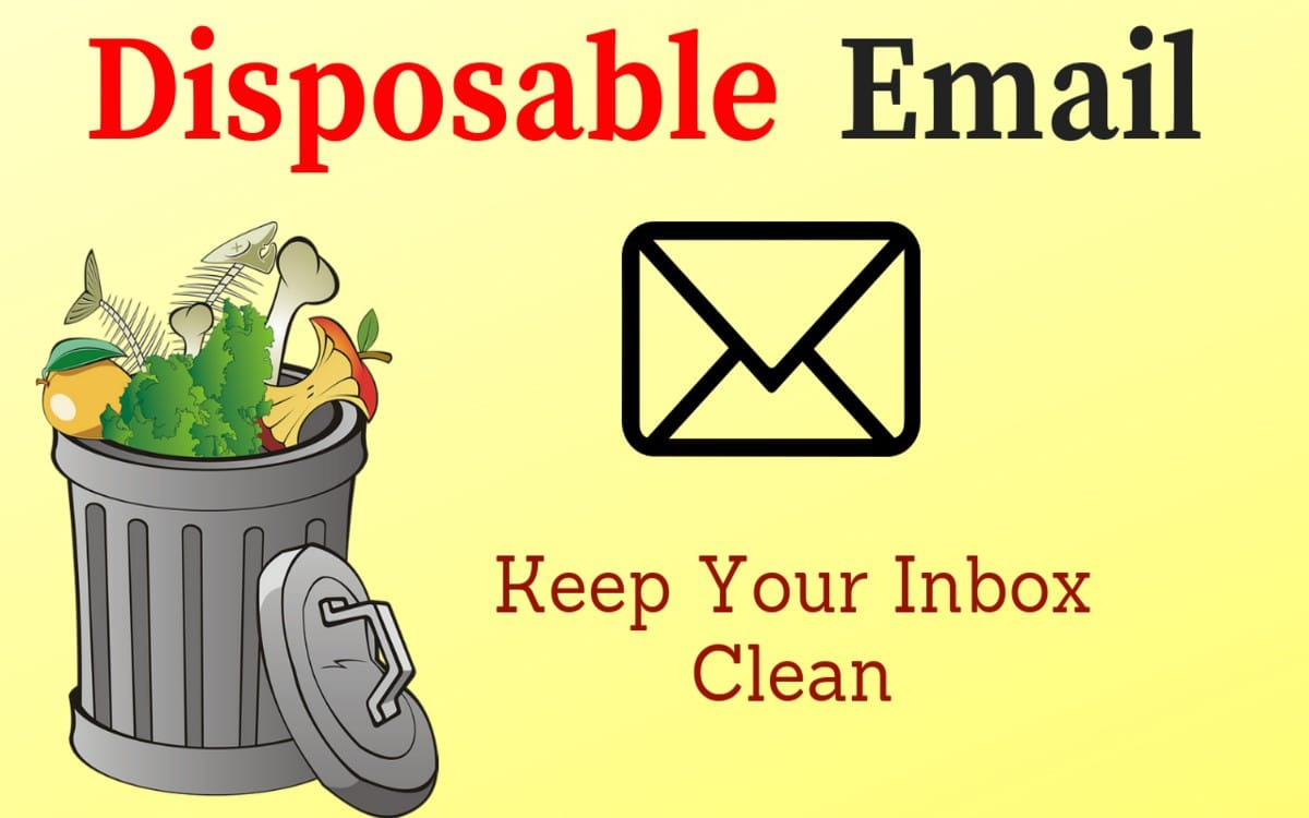 how to use disposable email address