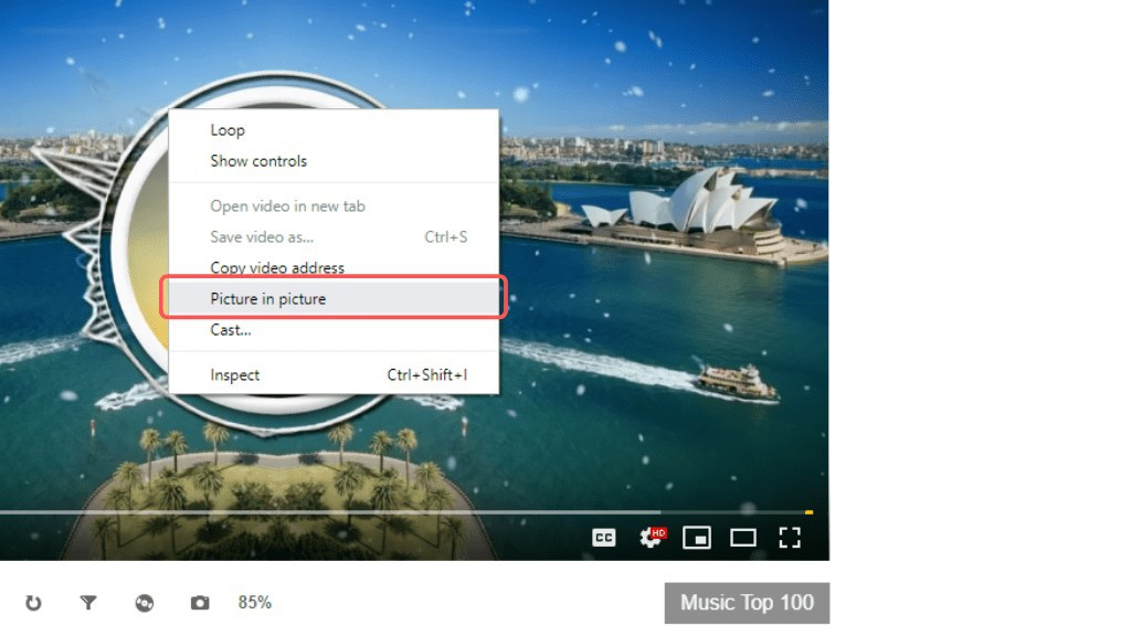 try Picture in Picture mode in Google Chrome, how to get picture in picture mode chrome