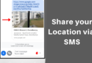 how to send gps location in sms android