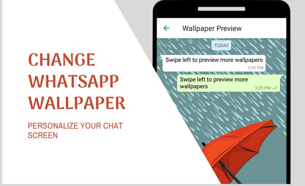 Change Chat Wallpaper on WhatsApp