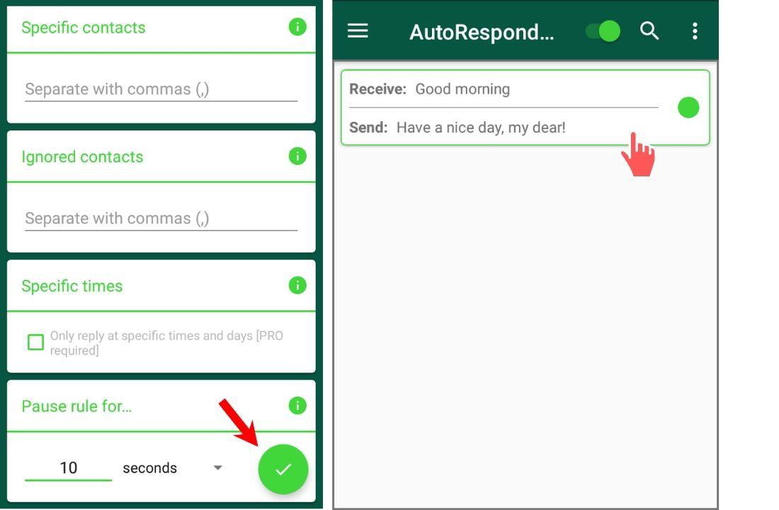 mensagens de resposta automática negócios whatsapp