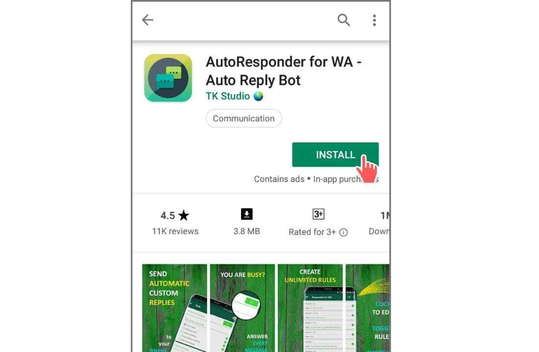 resposta automática para negócios whatsapp