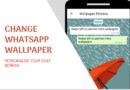 change whatsapp chat screen wallpaper