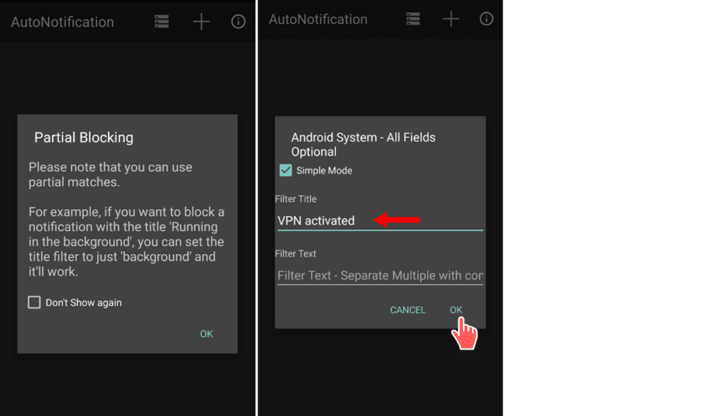 Block Persistent Notifications In Android Oreo