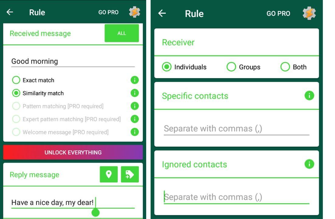 mensagens automatizadas de negócios do whatsapp