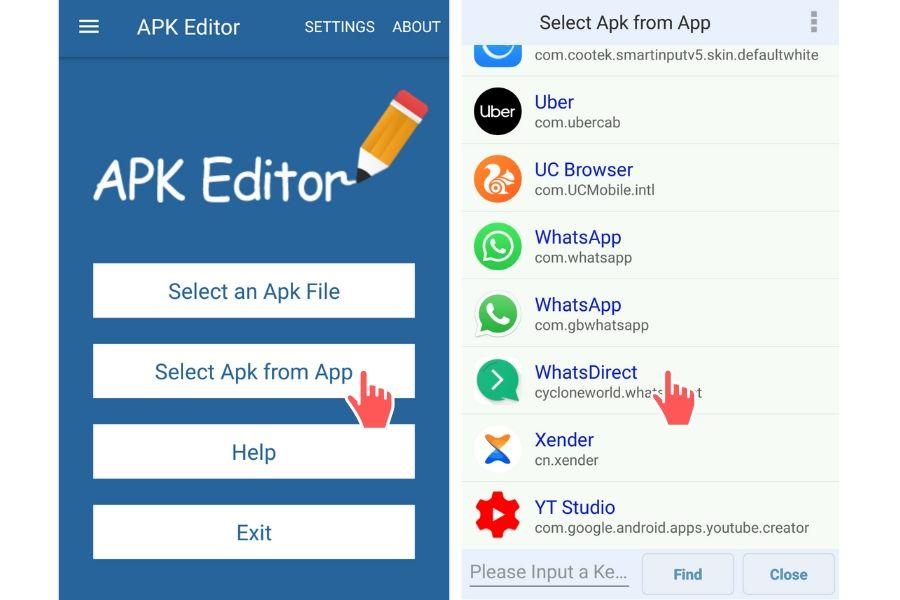 change app icon using apk editor