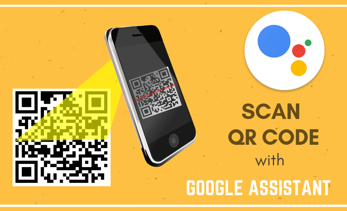 scan qr code with google assistant