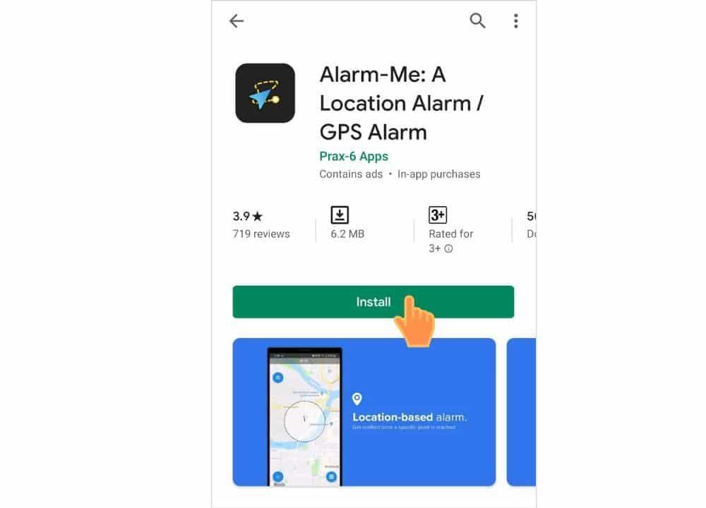 Alarm-Me: A Location Alarm / GPS Alarm