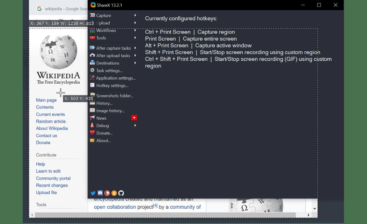 capture scrolling web page windows 10