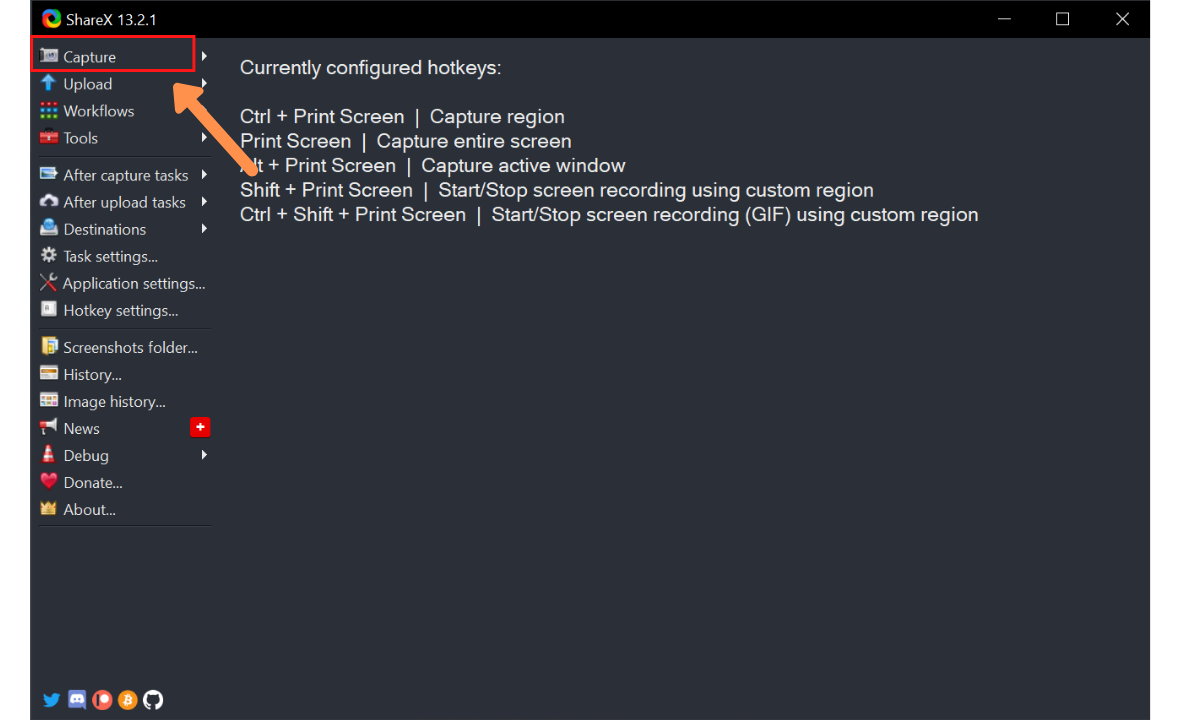 scrolling screen capture windows 10