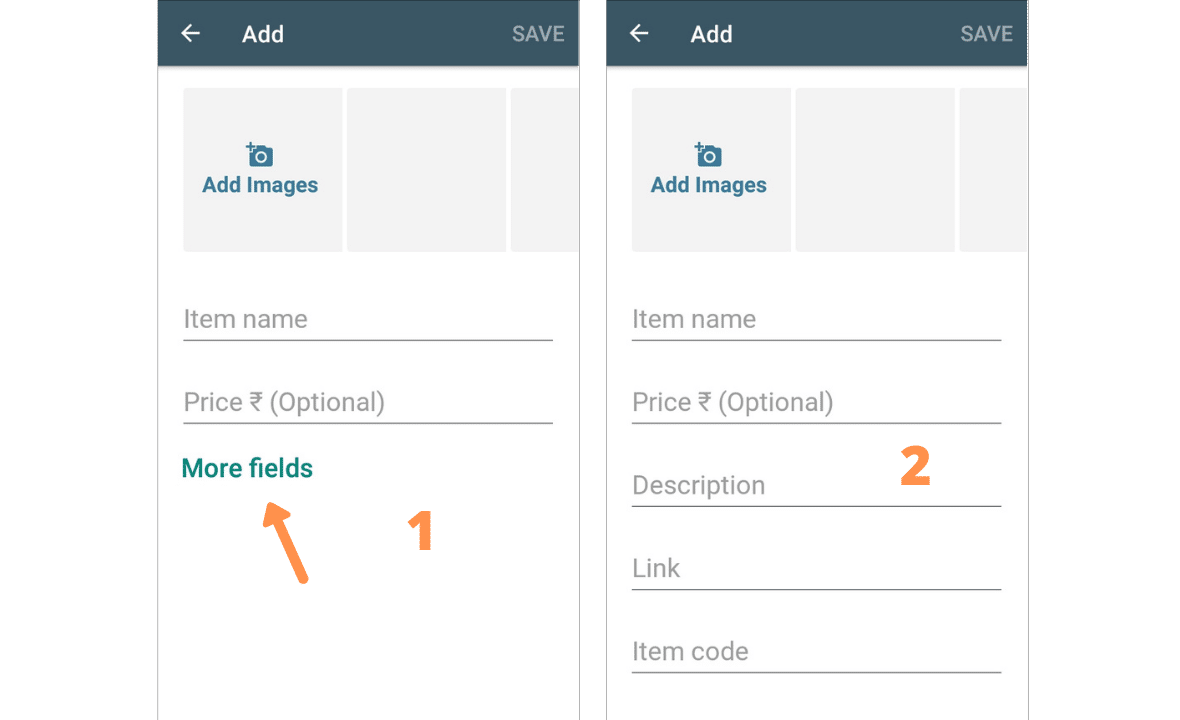 Add a product to whatsapp catalog