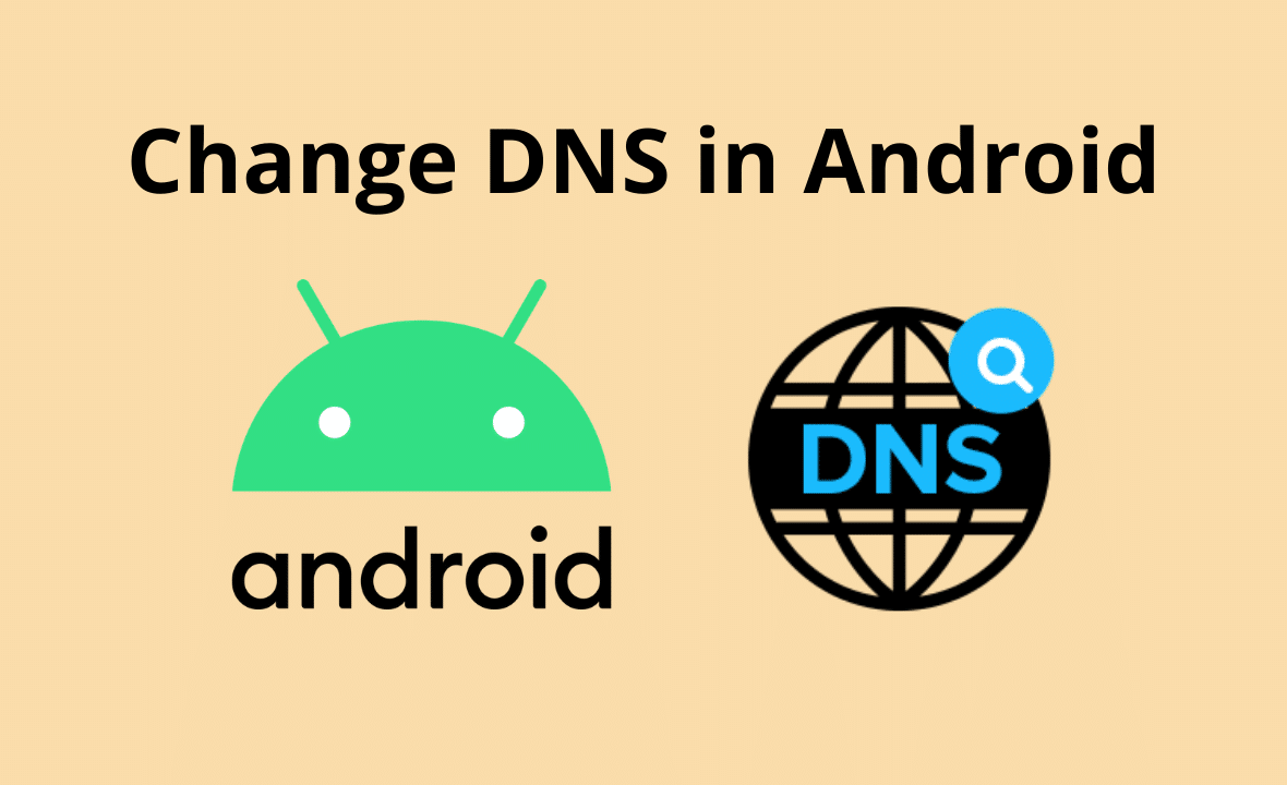 change dns in android