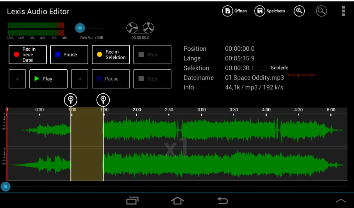 remove sound from a video on Android