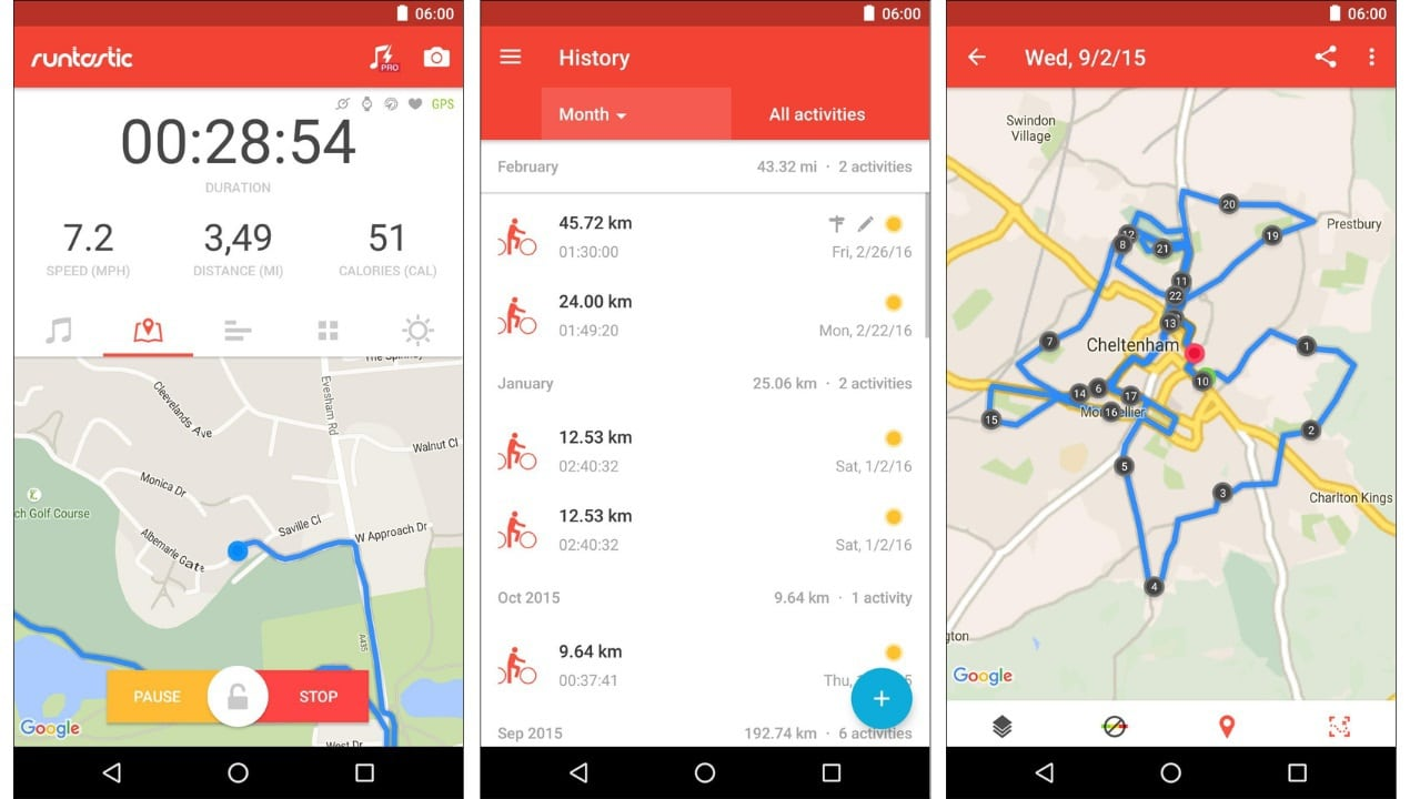 bike apps android