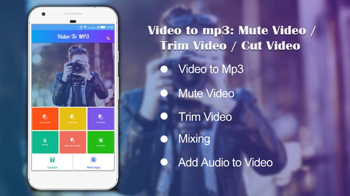 video to mp3 mute video