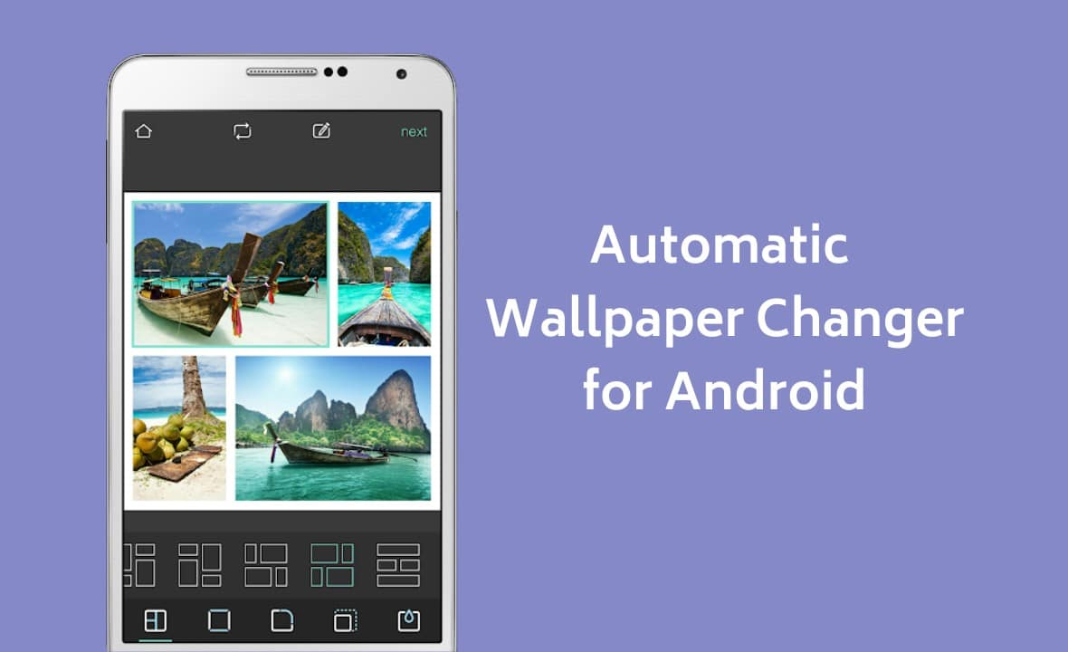 automatic wallpaper changer android