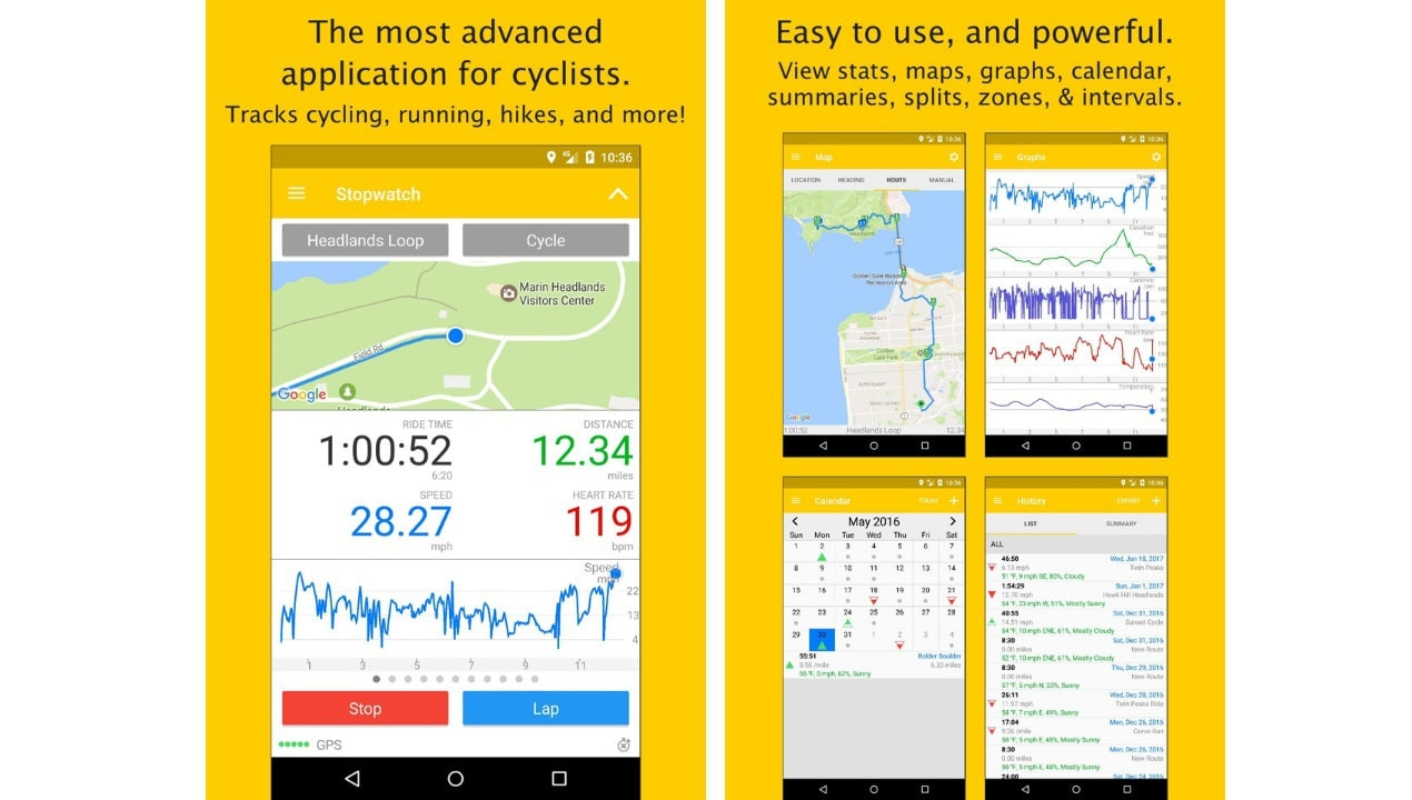 apps for bike riders