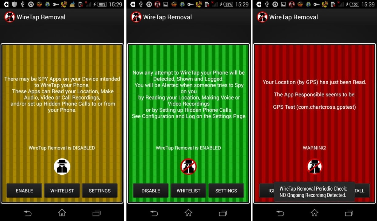 how to detect spyware on android phone