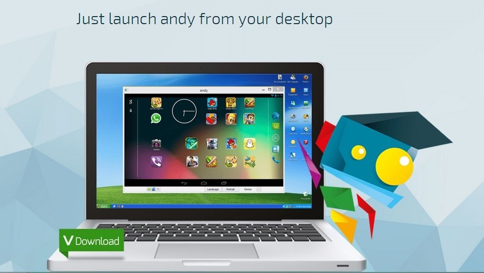 Andy Android Emulator, android emulator for pc
