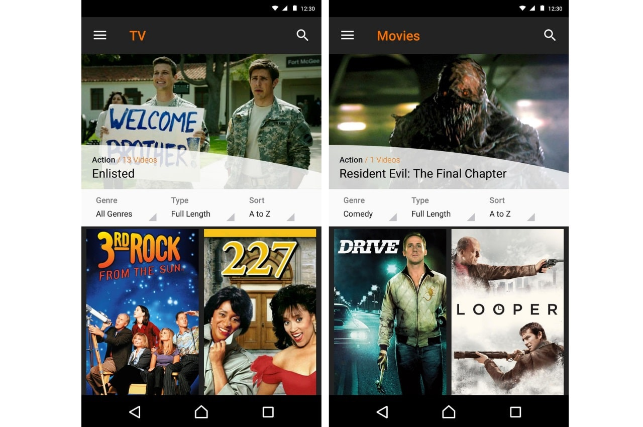 watch Hollywood movies for free, Crackle