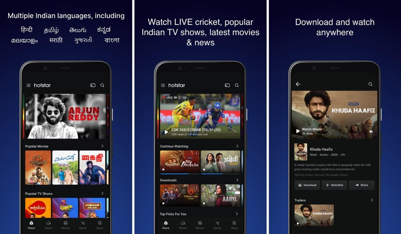 app to watch tv shows free, Hotstar