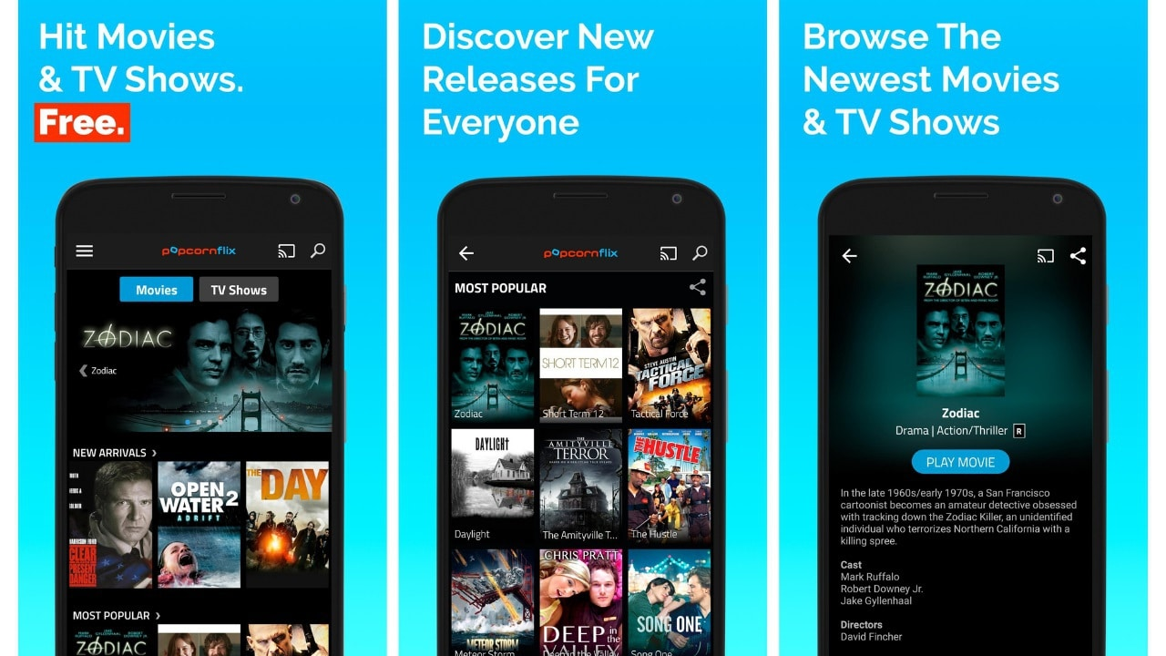 free movies and tv shows, Popcornflix
