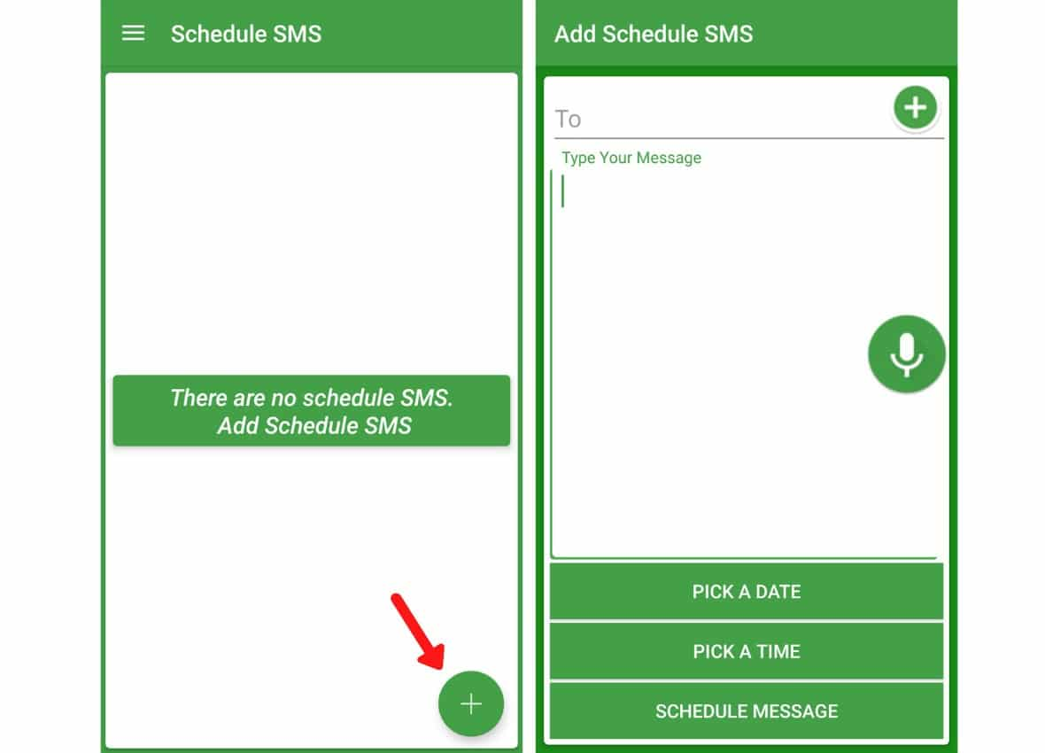 sms scheduler android