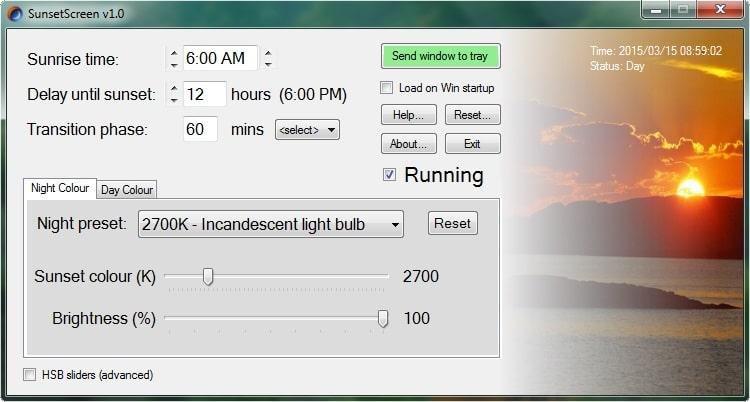 blue light filter app for pc windows 10