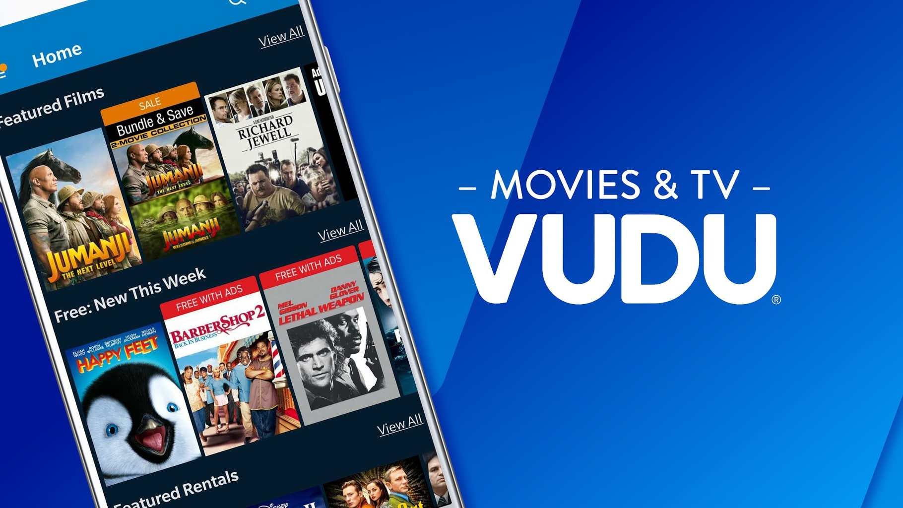 free movies and tv shows online, Vudu
