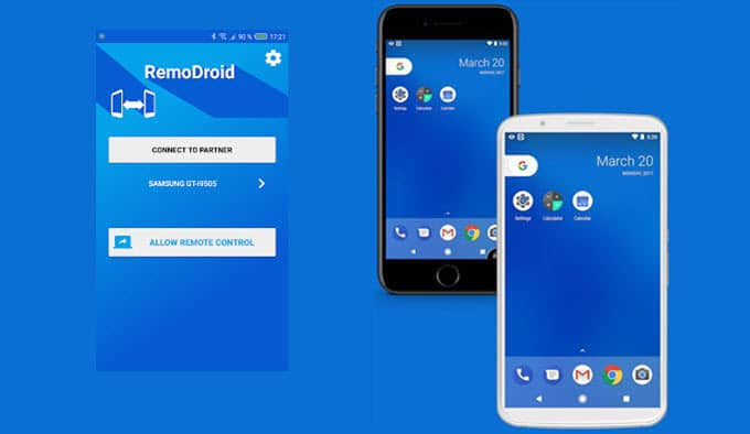 control android phone from pc via wifi