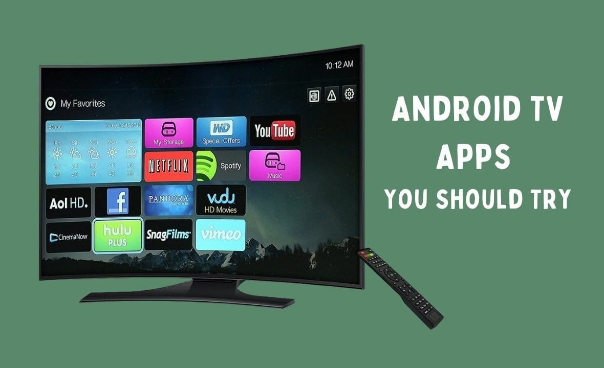 best apps for android tv