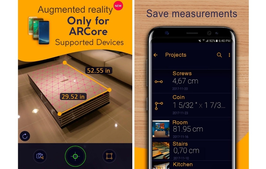 measuring tape for android
