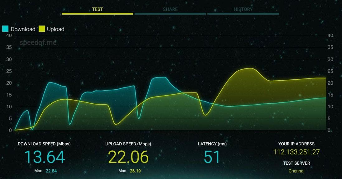 internet speed test windows 10