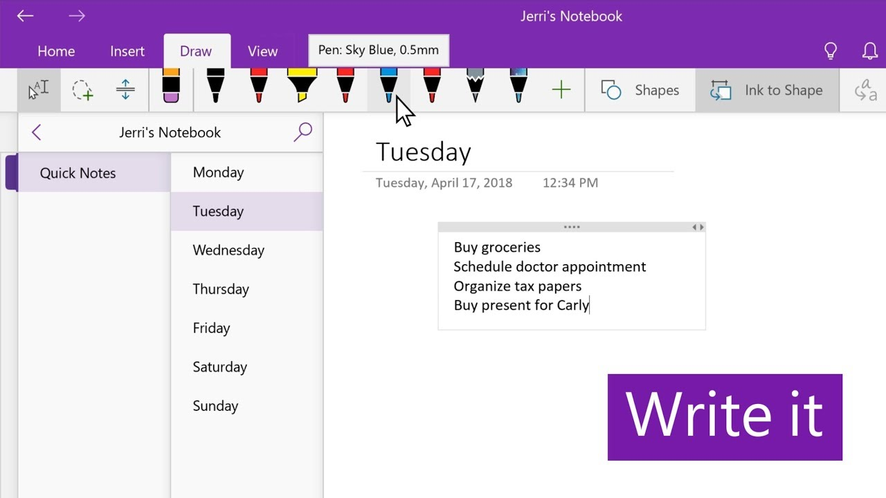free reminder apps for windows 10, onenote reminders