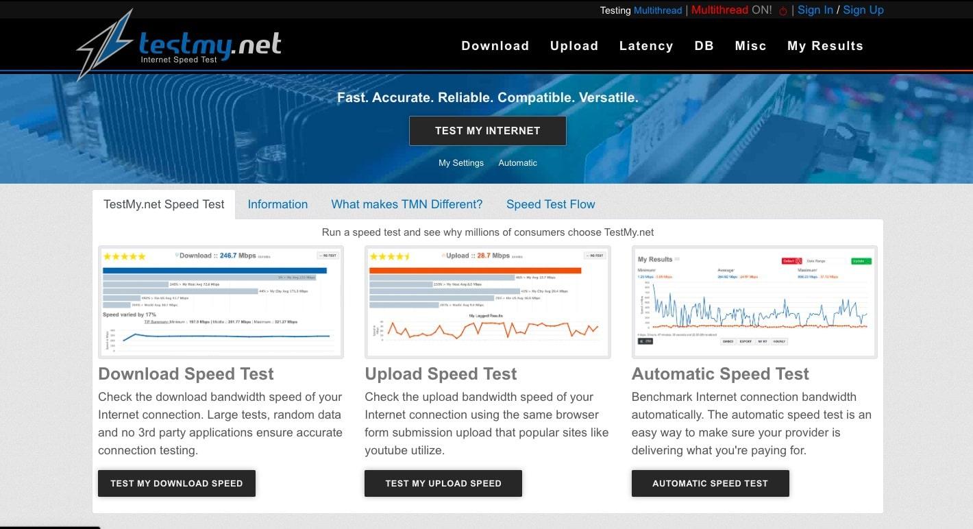 best internet speed test windows 10