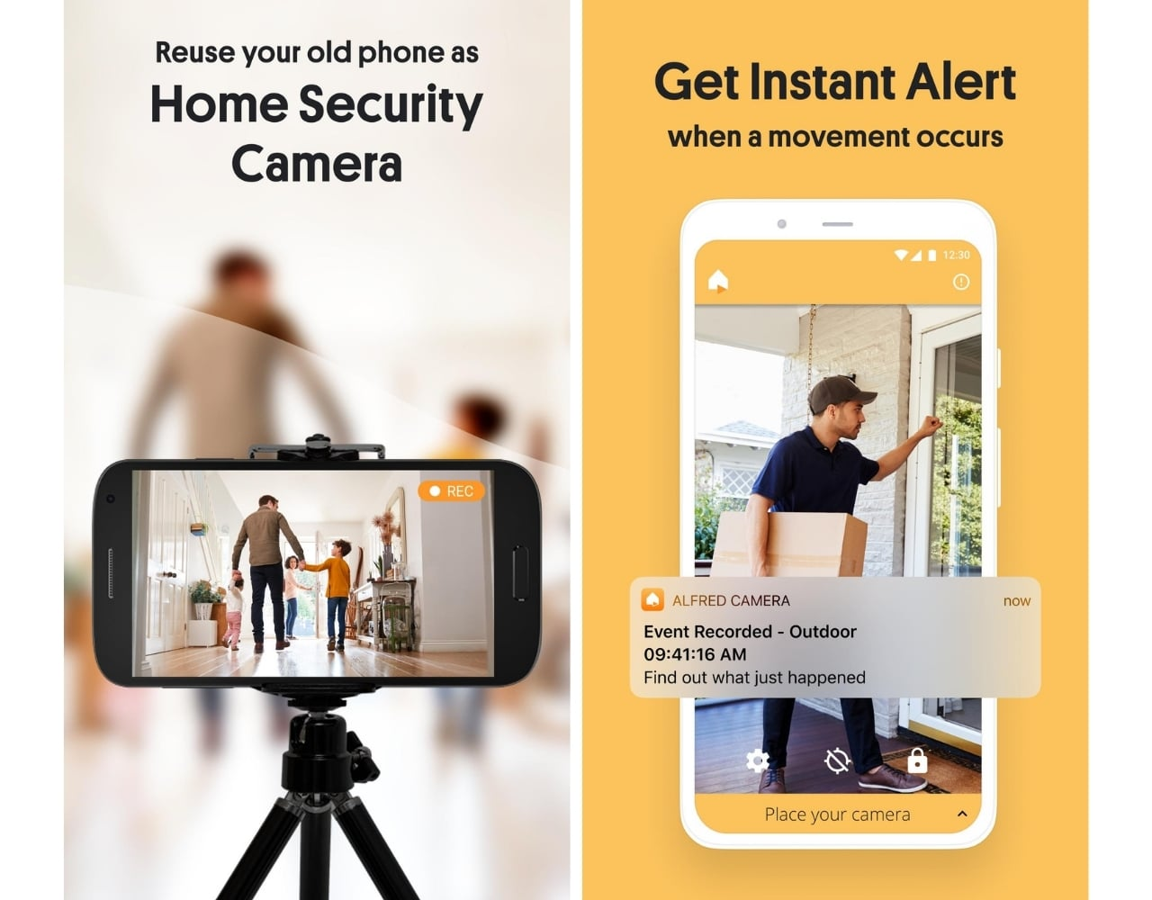 Home Security Camera app for android