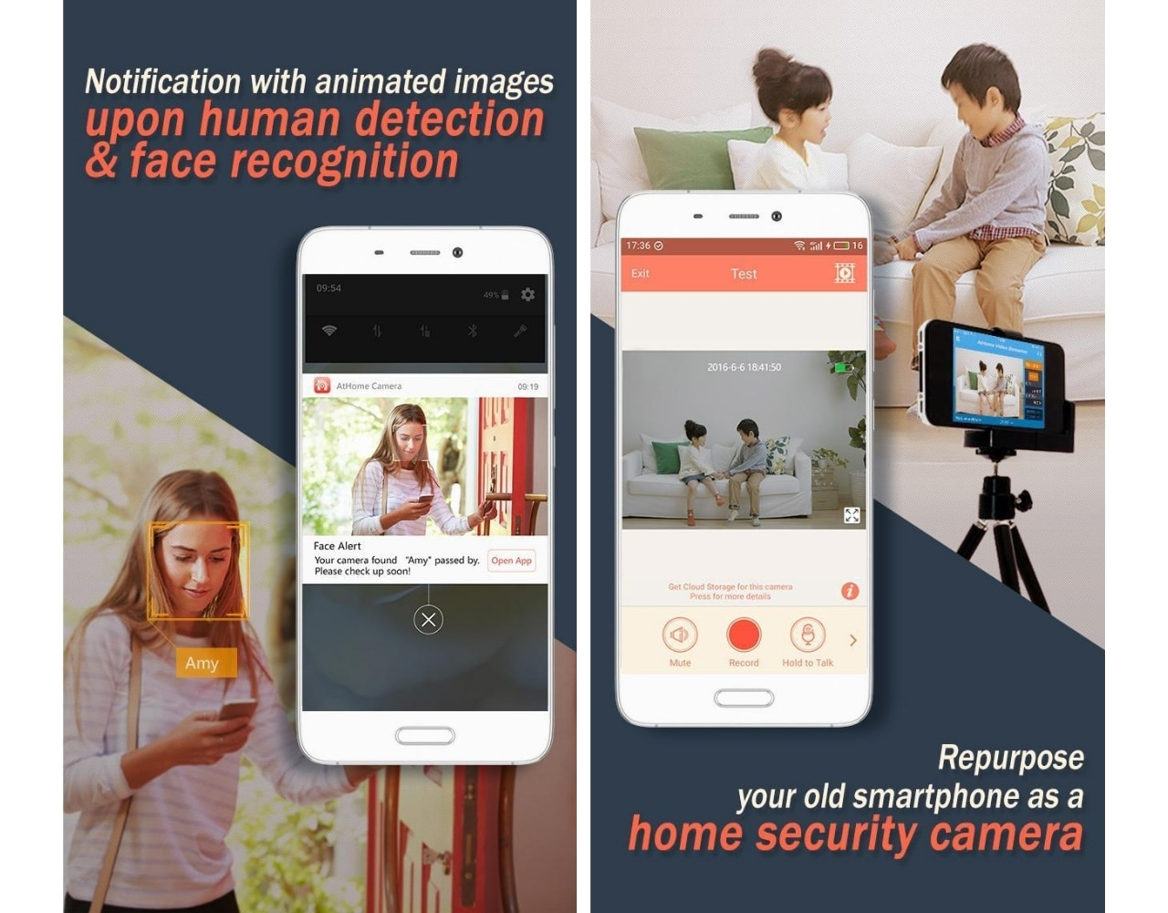 turn old android phone into security camera