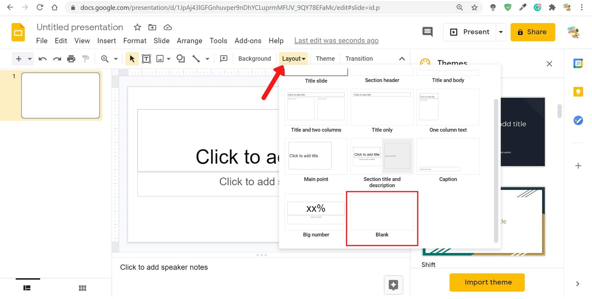 how to create a collage of images on google slides