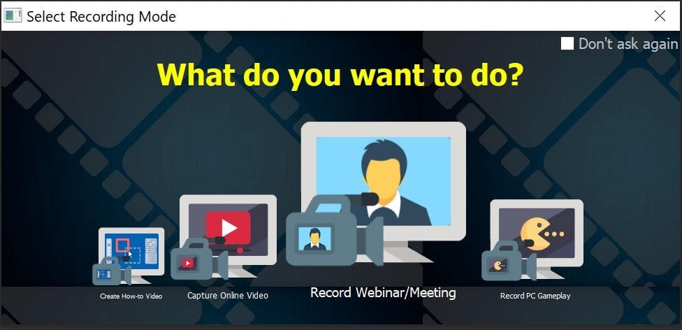how to record zoom meeting without host permission on pc
