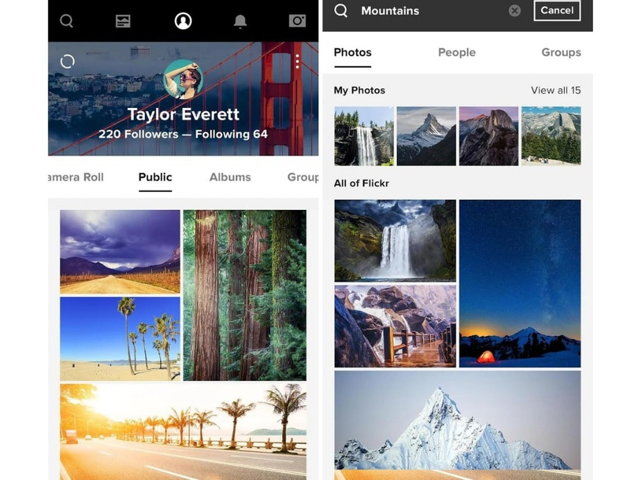 photo storage app