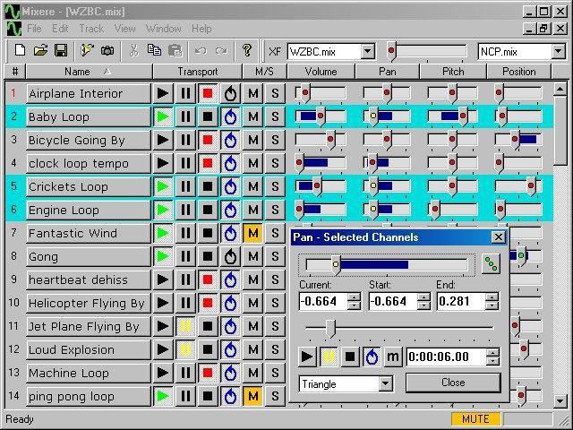 discord soundboard Mixere