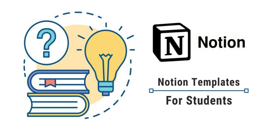 Notion templates for students
