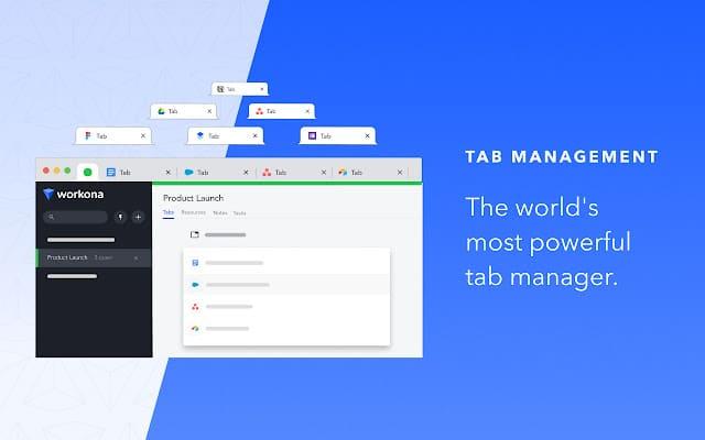 Workona Tab Manager