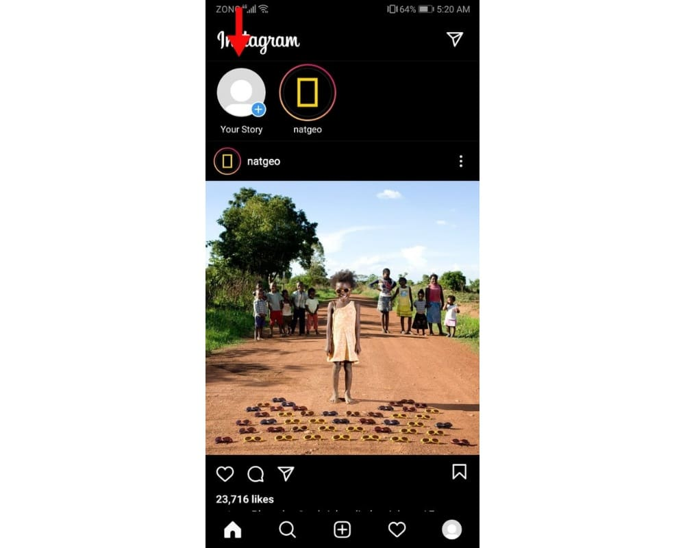 add multiple photos on one instagram story