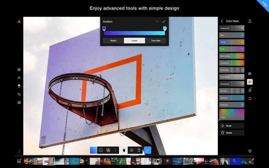 best free windows 10 apps, photo editor polarr